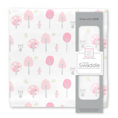 Muslin Swaddle Blanket - Single