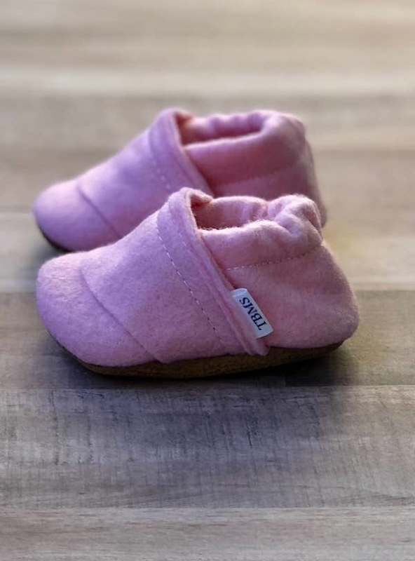 Felt Loafers | Bubblegum Pink