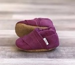 Felt Loafers | Deep Purple