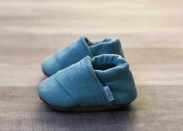 Felt Loafers |Sea Blue