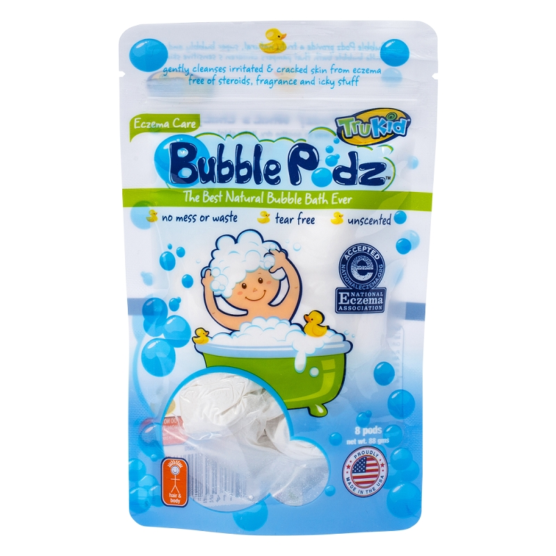Bubble Podz - Eczema formula (8 count)