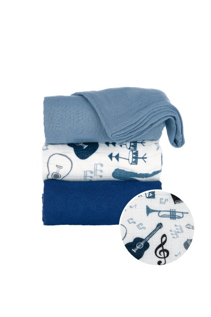 Tula Blanket Set | Music Lessons