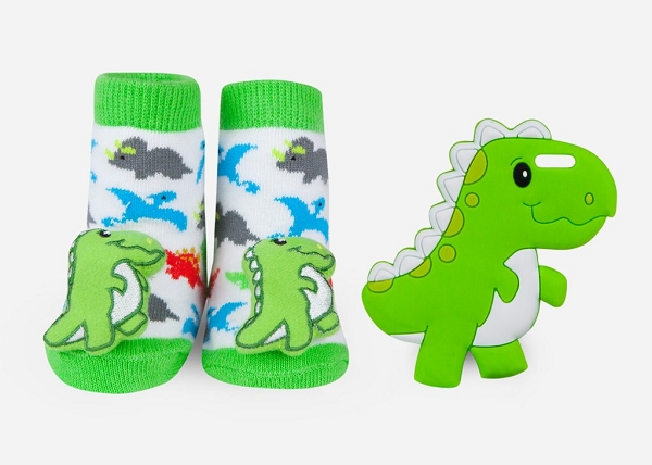 Teether Gift Set | Dinosaur