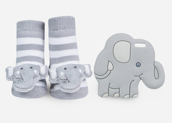 Teether Gift Set | Elephant