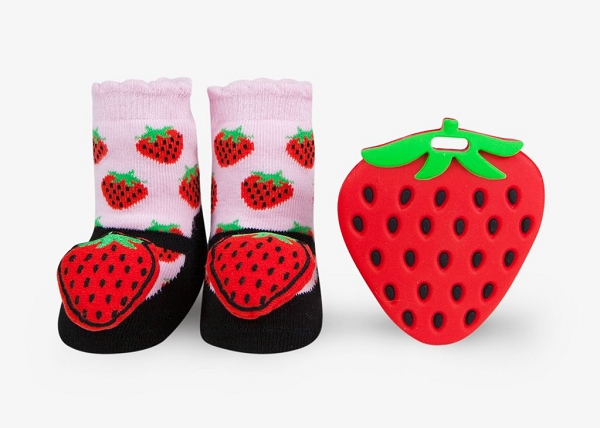 Teether Gift Set | Strawberry