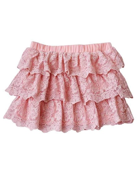 Tiered Lace Skirt