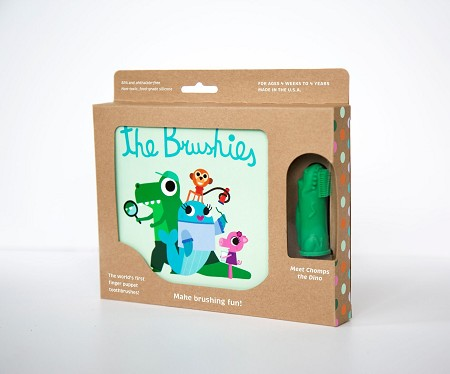 Brushies Book Set | Chomps the Dino