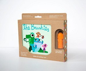 Brushies Book Set | Momo the Monkey