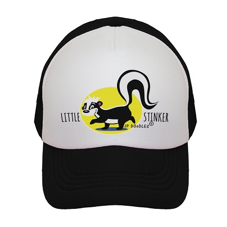 Kids Trucker Hat | Little Stinker Black